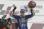 MotoGP | 2017MotoGP開幕戦カタールGP決勝:スタートから大混戦! ビニャーレスがヤマハで初優勝
