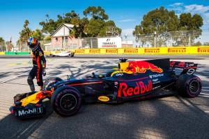 2017年第1戦オーストラリアGP ダニエル・リカルド(レッドブル)