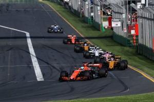 2017年F1開幕戦オーストラリアGP フェルナンド・アロンソ