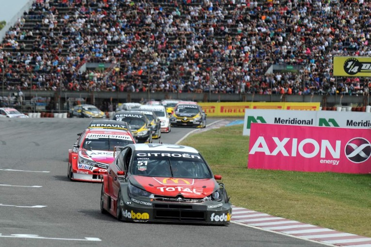 海外レース他   アルゼンチン『スーパーTC2000』、初参戦シトロエンが開幕戦完全制覇