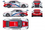 Audi Team DreamDriveのアウディRS3 LMSのカラーリング