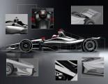海外レース他 | インディカー、18年型エアロキットの新イメージ画像を公開。夏にはテスト実施へ