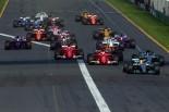 2017年F1オーストラリアGPスタート