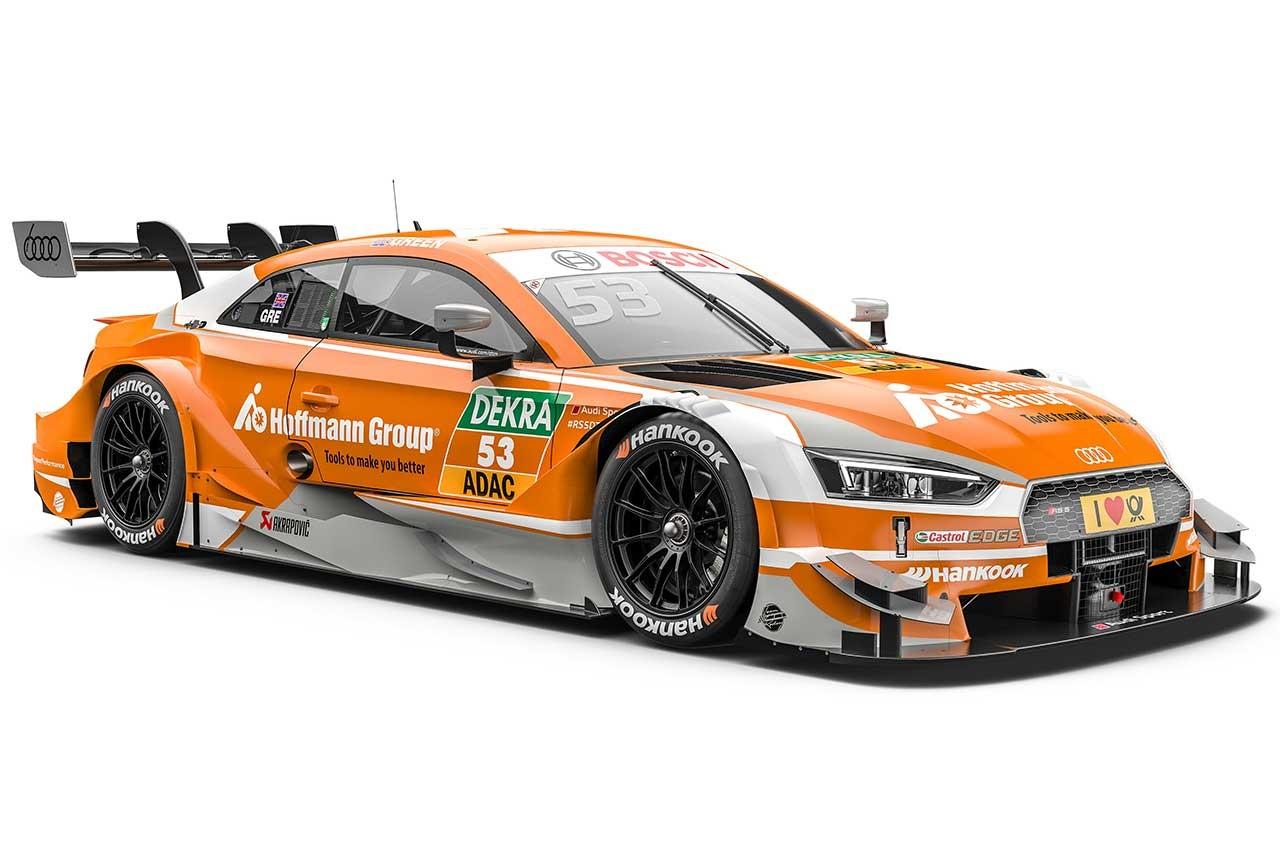 DTM:アウディ、2017年カラーリングを公開。3チームのドライバー布陣も明らかに