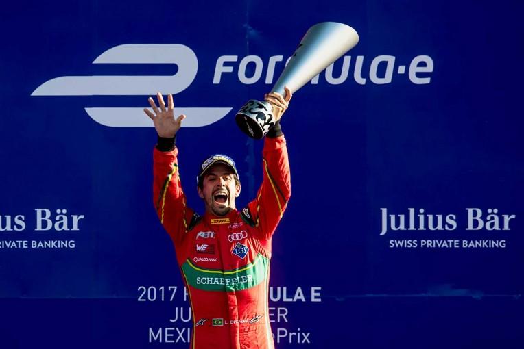 海外レース他   フォーミュラE第4戦:2度のギャンブルに成功したディ・グラッシが今季初優勝