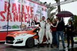ラリー・サンレモでクラス4位を獲得した新井大輝/グレン・マクニール(フォード・フィエスタR2)