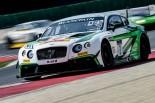 チームMスポーツの7号車ベントレー・コンチネンタルGT3が今季初表彰台を獲得