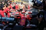 F1開幕戦オーストラリアGPで優勝を飾ったセバスチャン・ベッテル