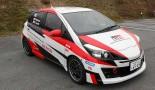 TOYOTA GAZOO Racingが全日本ラリーに投入するCVT搭載車『TGR Vitz CVT』