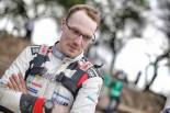 4月6日にスタートするWRC第4戦ツール・ド・コルスへの意気込みを語ったヤリ-マティ・ラトバラ(トヨタ・ヤリスWRC)