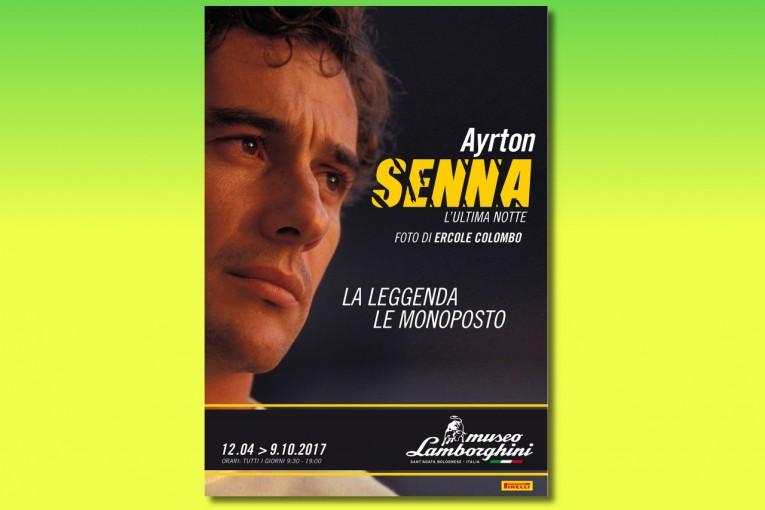 F1 | セナのマシンがイタリアに集結。ランボルギーニ、セナの生涯を振り返る特別展開催