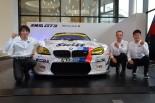 GT300王座獲得に挑むBMW Team Studieの鈴木康昭代表、ヨルグ・ミューラー、荒聖治とStudie BMW M6