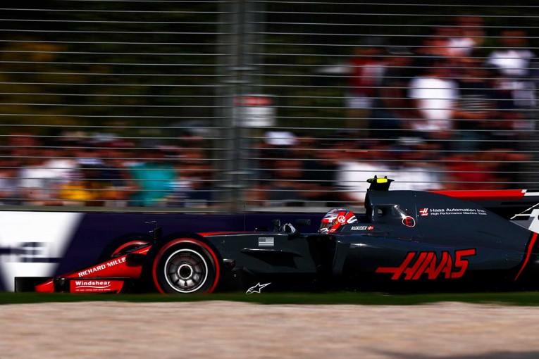 F1   小松礼雄コラム第3回:ハース躍進の驚きとマグヌッセンの焦り。新F1マシンの醍醐味