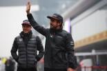 2017年中国GP木曜 フェルナンド・アロンソとストフェル・バンドーン(マクラーレン・ホンダ)