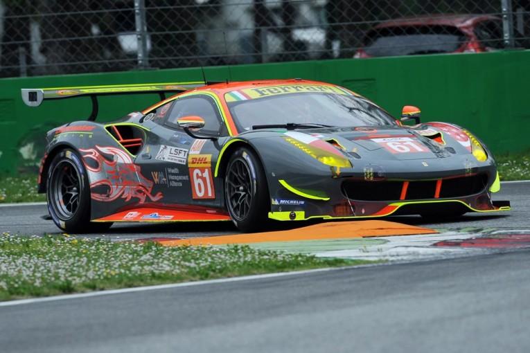 LMGTEアマクラスに参戦するクリアウォーター・レーシング フェラーリ488 GTE