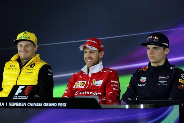 F1 | F1中国GP木曜会見:開幕戦の勝利でゴキゲンのベッテルと、ザウバー新人の初体験