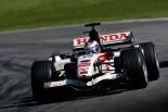 ジェンソン・バトンがドライブするホンダRA106 2006年F1