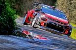 ツール・ド・コルス初日首位に立ったクリス・ミーク(シトロエンC3 WRC)