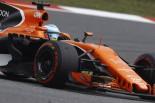 2017年F1第2戦中国GP フェルナンド・アロンソ(マクラーレン・ホンダ)