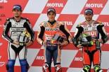 MotoGP | MotoGP第2戦アルゼンチンGP予選:マルケスがポール獲得。フロントロウにサテライト勢がつける