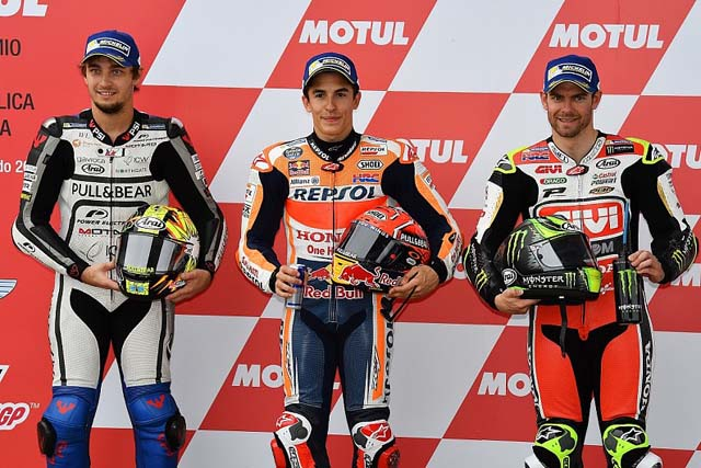 MotoGP   MotoGP第2戦アルゼンチンGP予選:マルケスがポール獲得。フロントロウにサテライト勢がつける