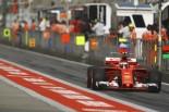 2017年F1第2戦中国GP キミ・ライコネン(フェラーリ)