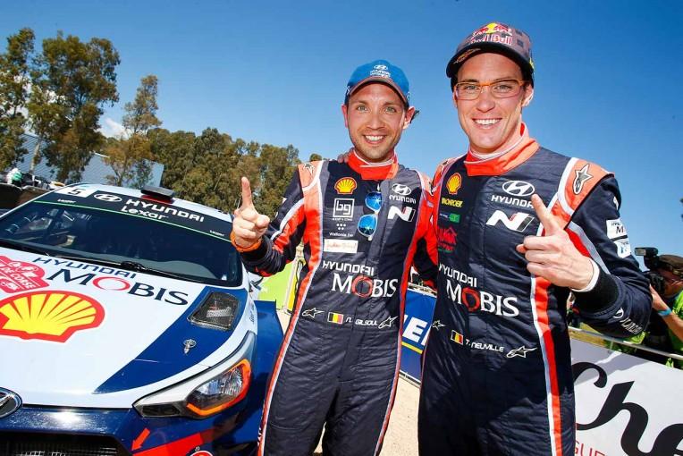 ラリー/WRC   WRCフランス:ヒュンダイのヌービル、序盤の不振跳ねのけ優勝。トヨタは表彰台に1歩届かず