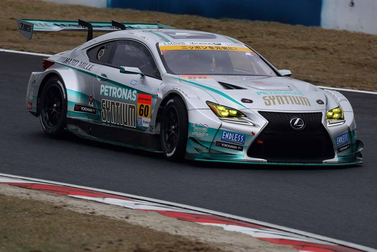 SYNTIUM LMcorsa RC F GT3 スーパーGT第1戦岡山 決勝レポート