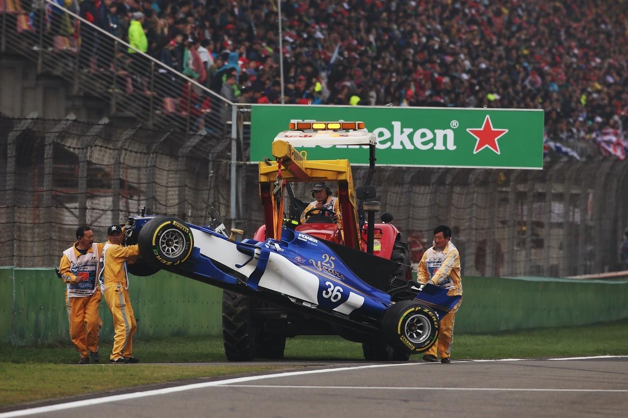 2017年F1第2戦中国GP アントニオ・ジョビナッツィ(ザウバー)