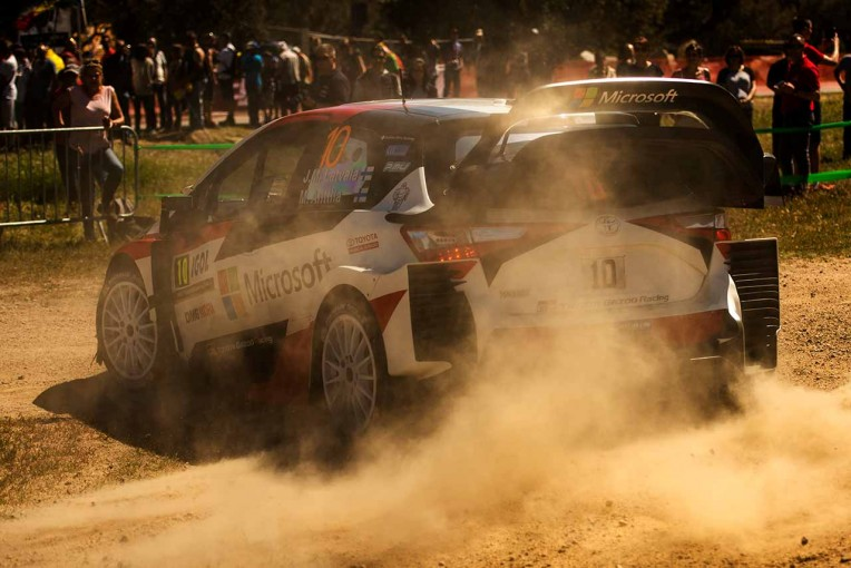 ラリー/WRC | WRC:ラトバラ、4戦連続入賞。豊田章男社長も現地に。「チームの皆と戦うことができた」
