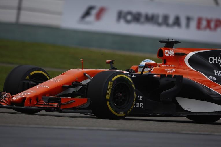 F1 | アロンソ「難コンディションで一時は6位。だが完走できる強さがない」マクラーレン・ホンダ F1中国日曜