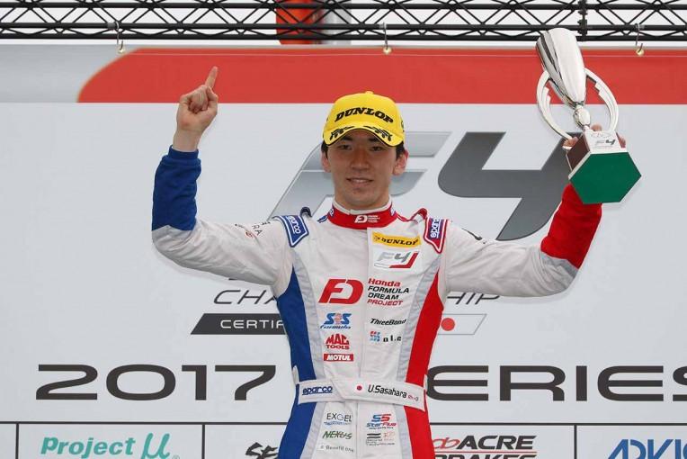 国内レース他 | FIA-F4岡山:第1戦で笹原右京が国内レースデビューウイン。第2戦は16歳の角田に軍配