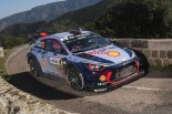 WRC第4戦ツール・ド・コルス ティエリー・ヌービル(ヒュンダイi20クーペWRC)