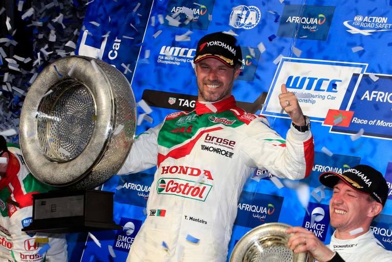 海外レース他   WTCC第1戦モロッコ:ホンダがメインレースでワン・ツー。道上龍もポイント獲得