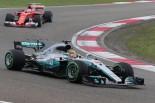 中国GP決勝のハミルトンとベッテル