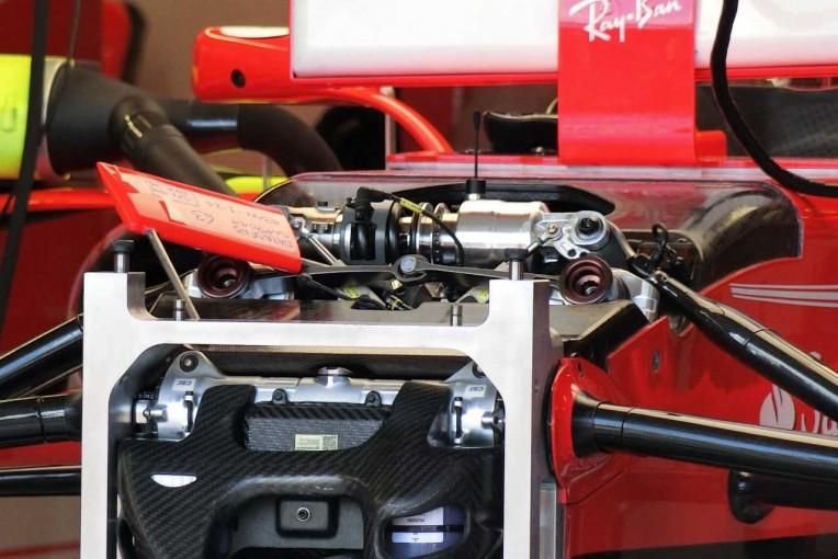 F1 | 【津川哲夫の私的F1メカ】フェラーリ躍進の核心か。今季搭載の機械式ヒーブサスペンション