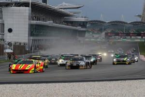 ブランパンGTシリーズ・アジアのレース1のスタート