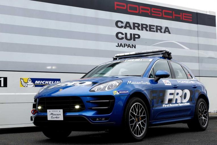 スーパーGT | ポルシェジャパン、スーパーGTにFRO車両としてマカンターボを提供