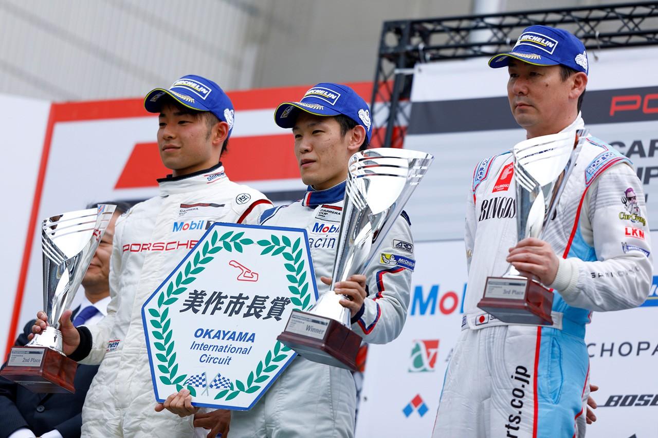 ポルシェカレラカップ・ジャパン 第2戦岡山 決勝レポート
