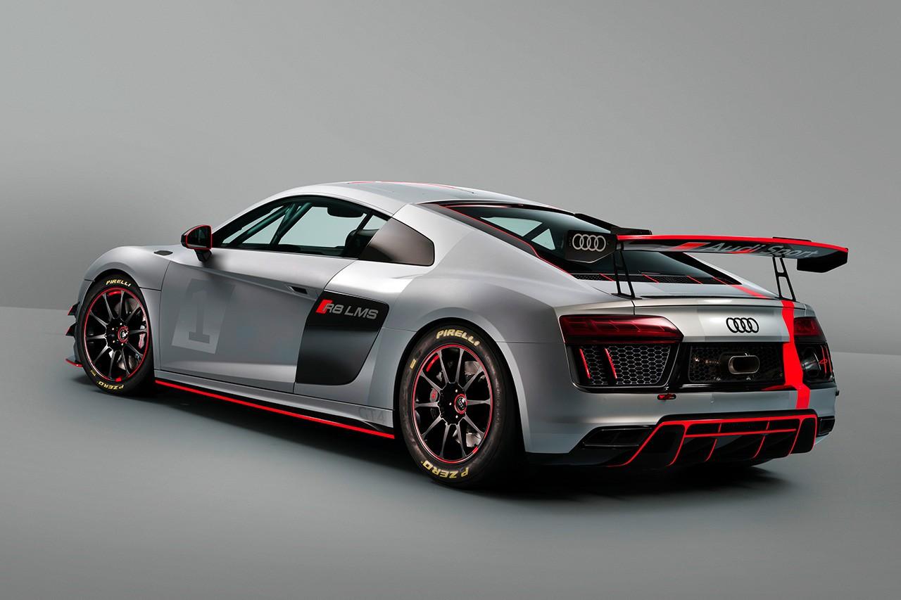 アウディ、GT4カテゴリー向け新レーシングカー『R8 LMS GT4』を発表
