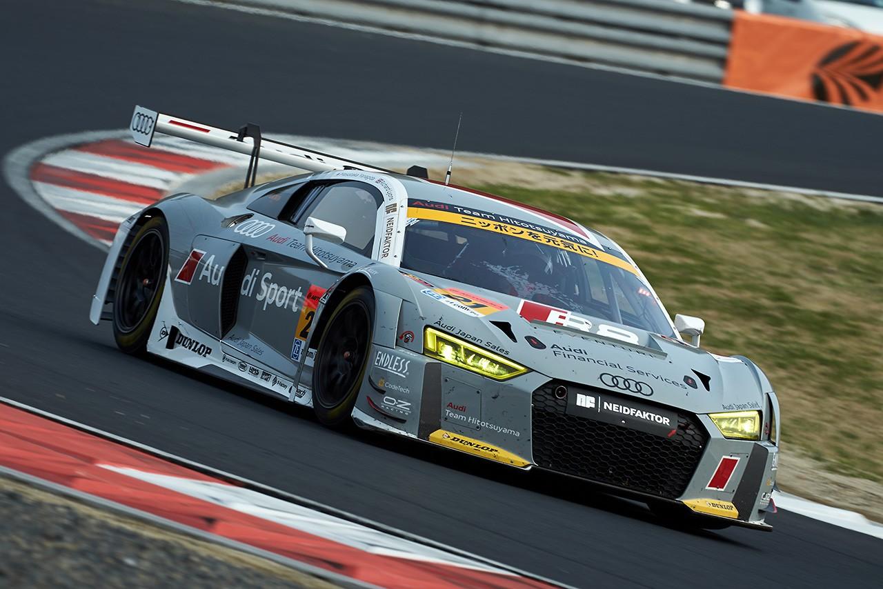 Audi Team Hitotsuyama スーパーGT第1戦岡山 レースレポート