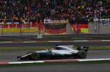 メルセデス『W08』のホイールベースはフェラーリより150mmほど長いという