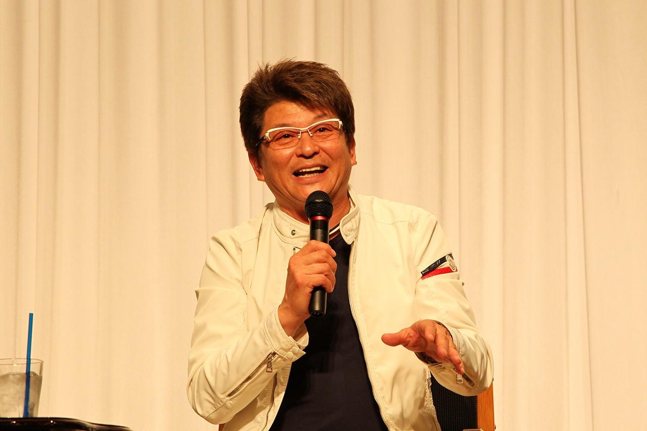 熊本復興を応援するモータースポーツトークショー開催。哀川翔ら出演