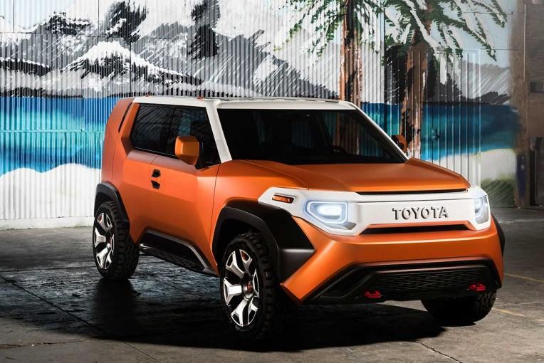 クルマ   トヨタ、NYショーで新SUVコンセプト『TOYOTA FT-4X』を世界初披露