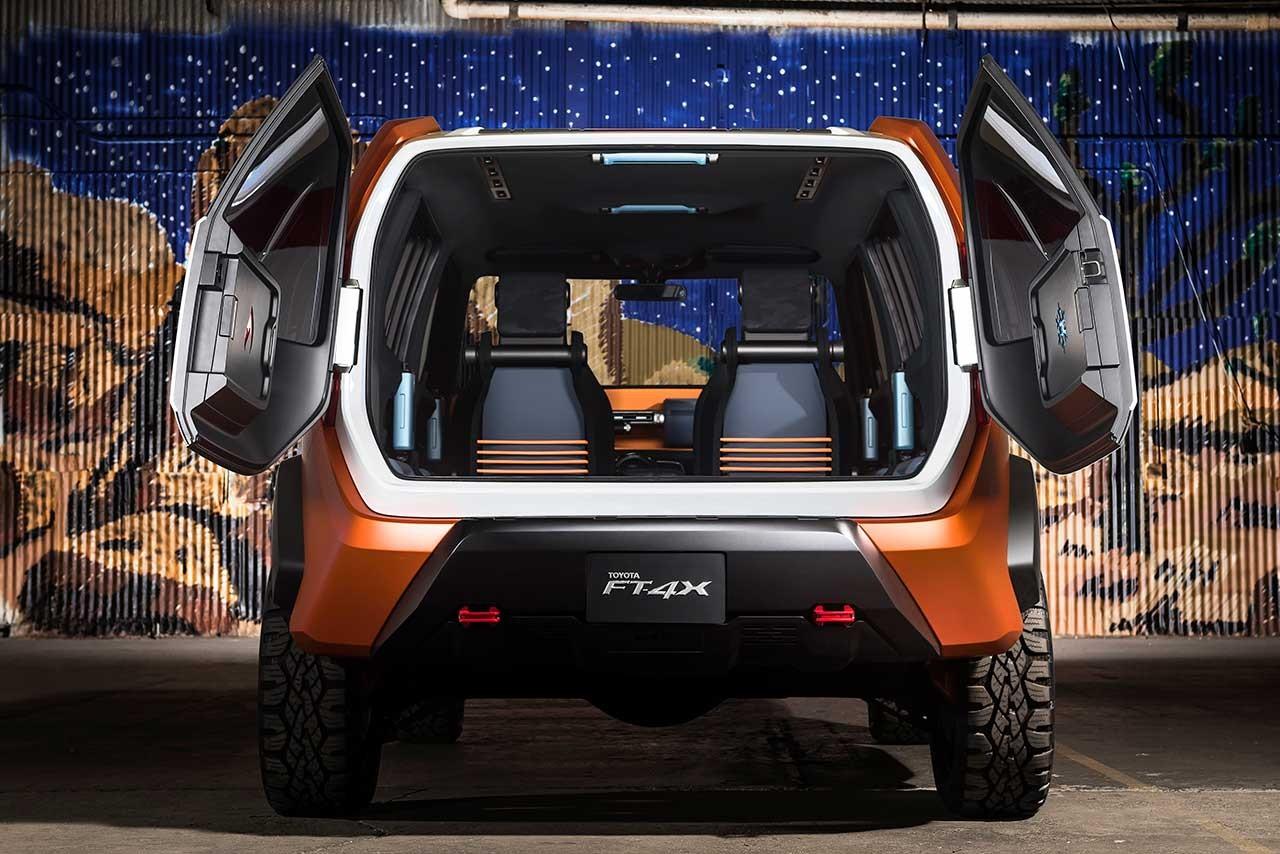トヨタ、NYショーで新SUVコンセプト『TOYOTA FT-4X』を世界初披露