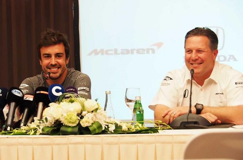 F1   アロンソ緊急会見。インディ1戦限定を強調も、モナコGPの代役未定の謎