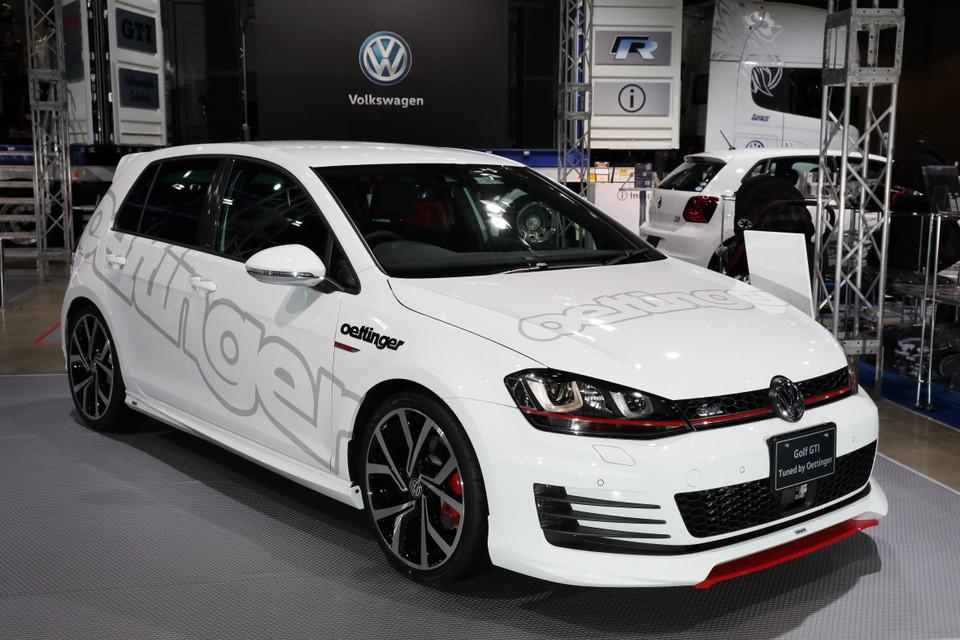 VW、モーターファンフェスタにGTEシリーズ、ゴルフ・チューンモデルなどを試乗車として出展