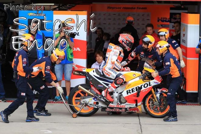 MotoGP現地トピックス:アルゼンチンで足元をすくわれたマルク・マルケス
