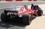 F1 | フェラーリF1、トップタイムも2台にトラブル。ライコネンは「予防措置」でエンジン交換