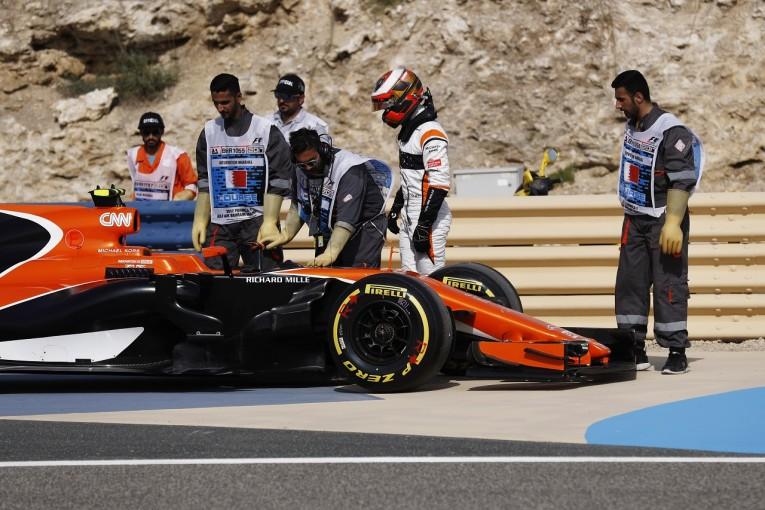 F1 | バンドーン「トラブルフリーの週末が一度もない。また手探りの予選に」マクラーレン・ホンダ F1金曜